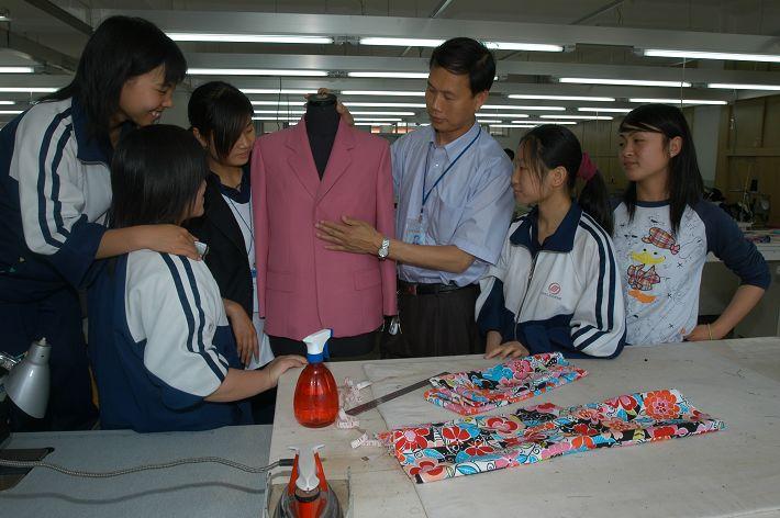 服装制作与营销专业(服装设计与工艺)